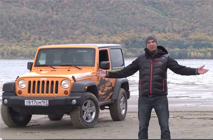 Jeep Wrangler 3.6 2013 — Игорь Бурцев