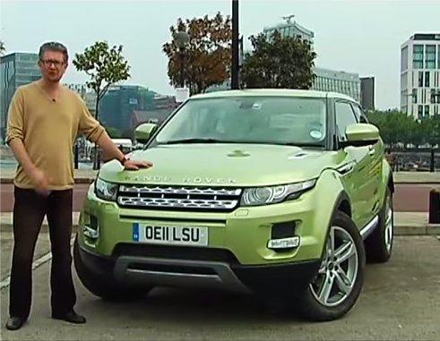 Land Rover Range Rover Evoque 2011 — Наши тесты
