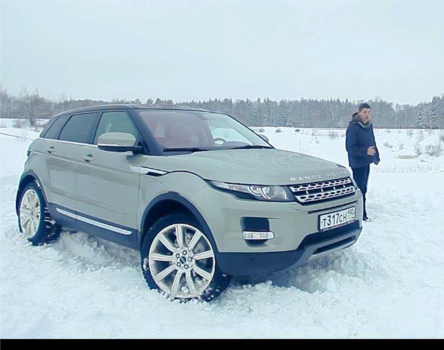 Land Rover Range Rover Evoque 2012 — Пётр Баканов