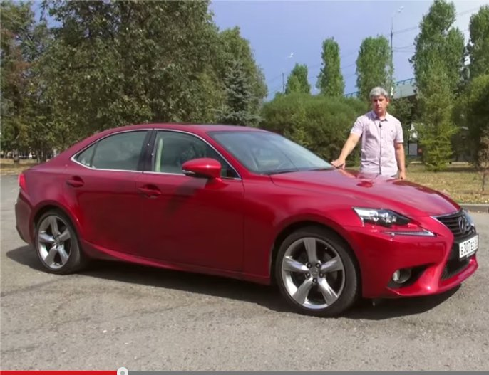 Lexus IS 2013 - За рулем