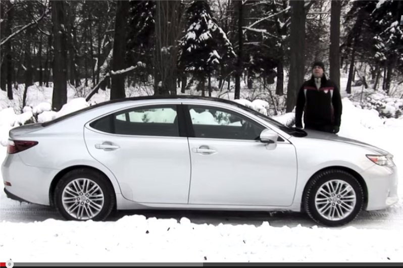 Lexus ES 2013 — Две Лошадиные Силы