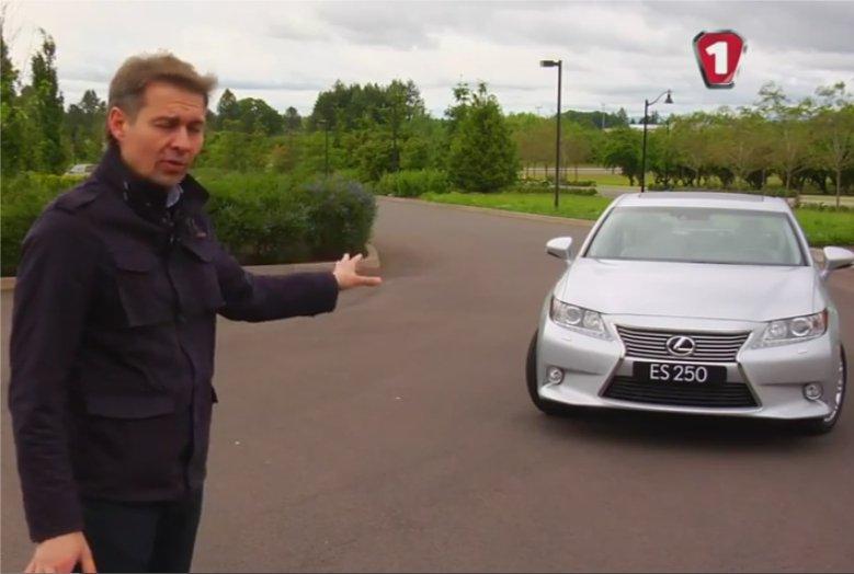 Lexus ES 2012 — Первый тест