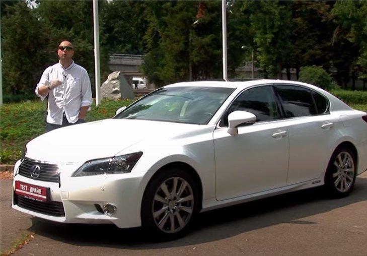 Lexus GS 450h 2013 — Две Лошадиные Силы