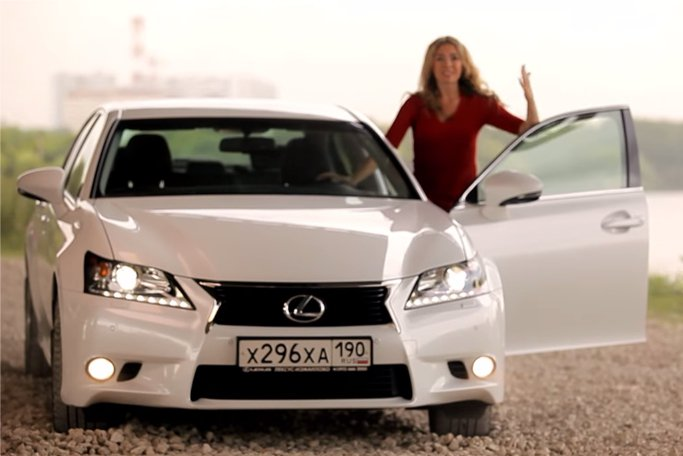 Lexus GS 350 2013 — Москва рулит