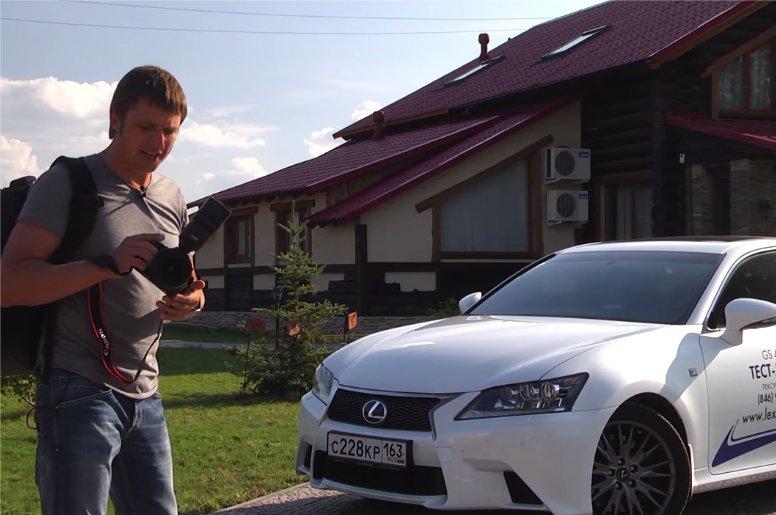 Lexus GS 2013 450h- Игорь Бурцев