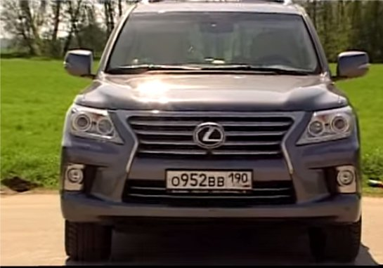 Lexus LX570 vs Mercedes GL vs Range Rover - Наши тесты