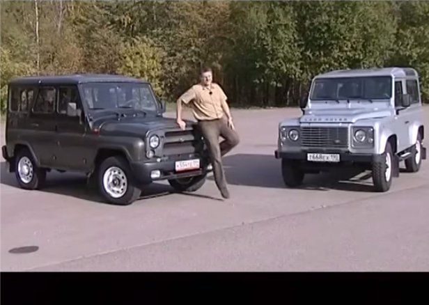 UAZ Hunter vs Land Rover Defender 90 — Наши тесты
