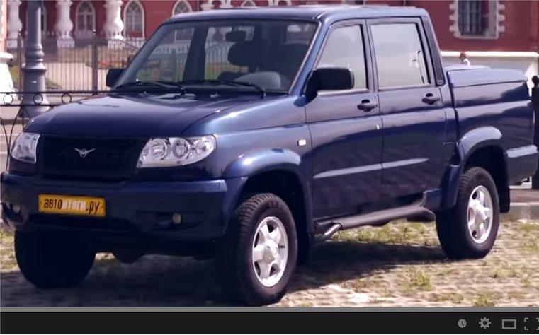 UAZ Pickup 2012 — АвтоИтоги