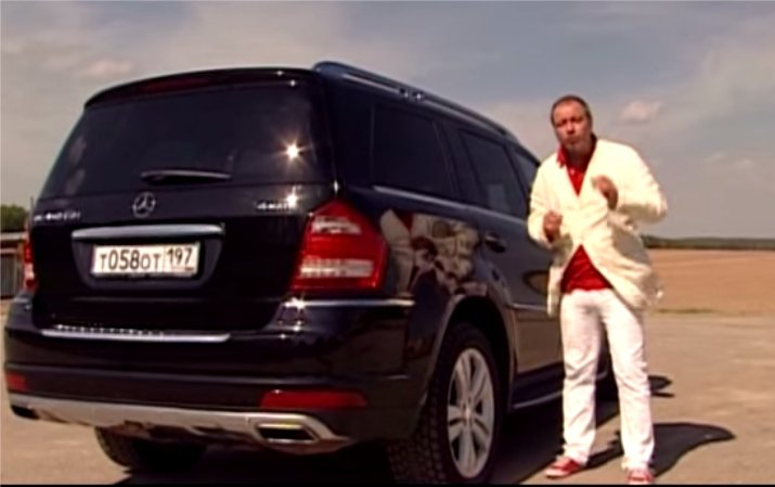 Mercedes GL vs Lexus LX570 vs Range Rover - Наши тесты