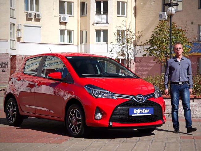 Toyota Yaris 2014 — InfoCar