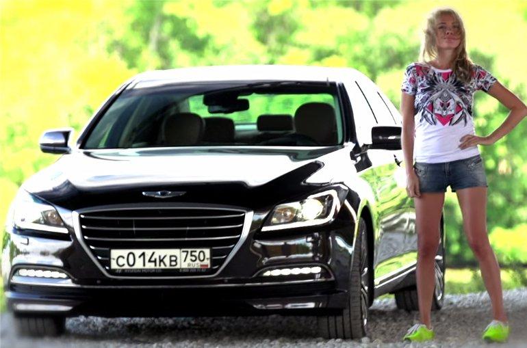 Hyundai Genesis 2014 — Москва рулит