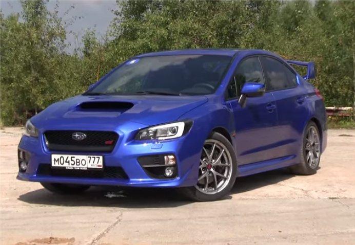 Subaru WRX STI 2015 — ATDrive