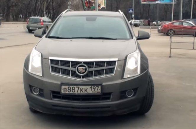 Cadillac SRX 2011 — Большой тест-драйв