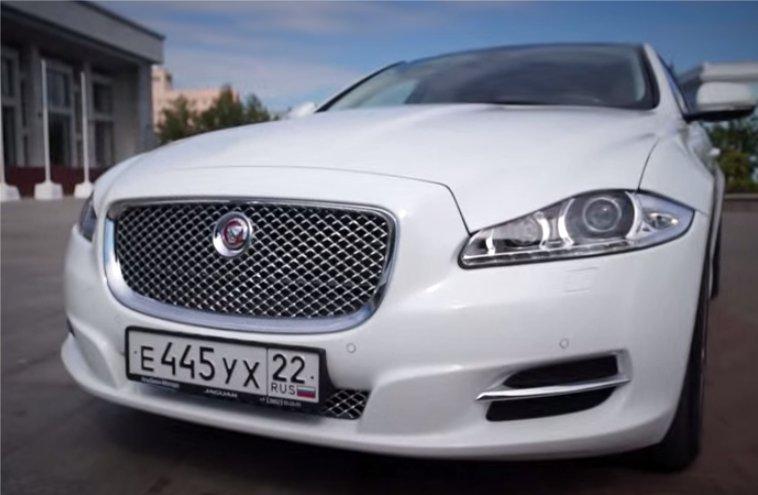 Jaguar XJ 2014 — Александр Михельсон