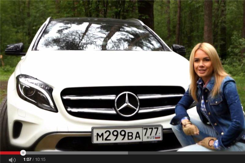 Mercedes GLA 250 4MATIC — Москва рулит