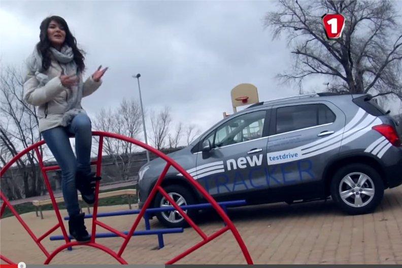 Chevrolet Tracker 2013 — Модная штучка