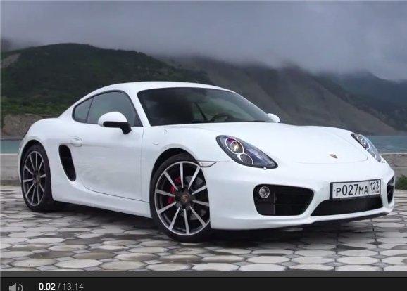 Porsche Cayman 3.4 S PDK 2014 — Игорь Бурцев
