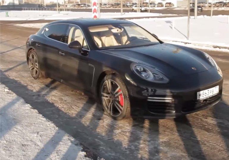 Porsche Panamera 4,8 Turbo Executive 970 2013 — Большой тест-драйв