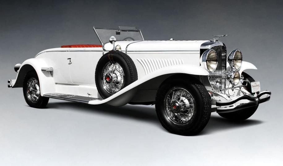 1929 Duesenberg Model J Disappearing Top Convertible Coupe — лучший автомобиль-купе с откидным верхом от Мёрфи