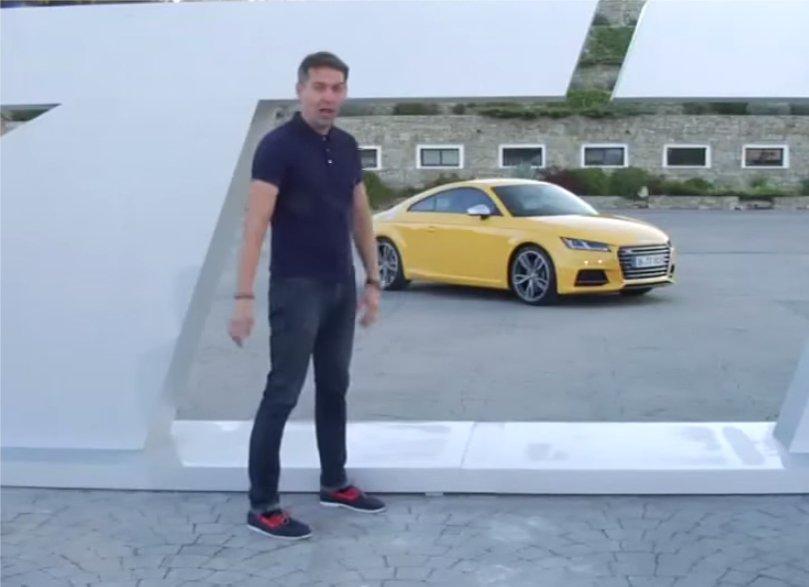 Audi TTS 2,0 TFSI 2014 //Первый тест