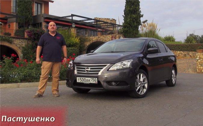 Nissan Sentra 1,6i 2014 — За рулем