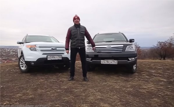 KIA Mohave 3.0 TDi vs Ford Explorer 3.5i — Игорь Бурцев