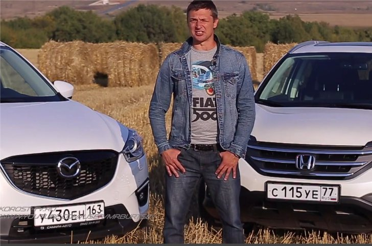 Honda CR-V 2,4i 2014 vs Mazda CX-5 2,5i — Игорь Бурцев