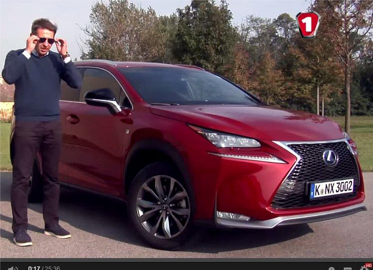 Lexus NX 2.5 Hybrid 2014 — Первый тест