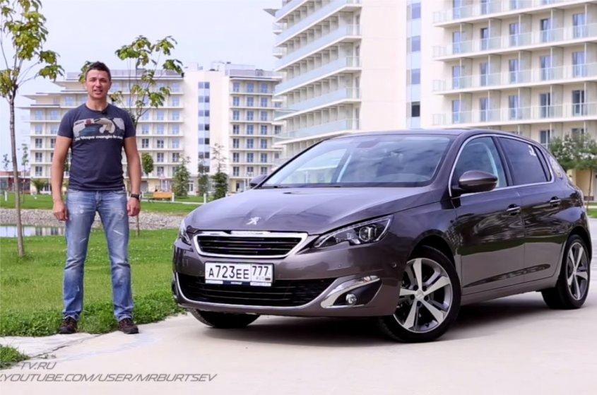 Peugeot 308 2014 — Игорь Бурцев