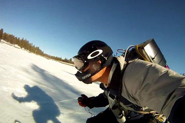На лыжах с ускорением