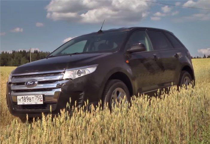 Ford Edge 3,5i 2014 — Моторы