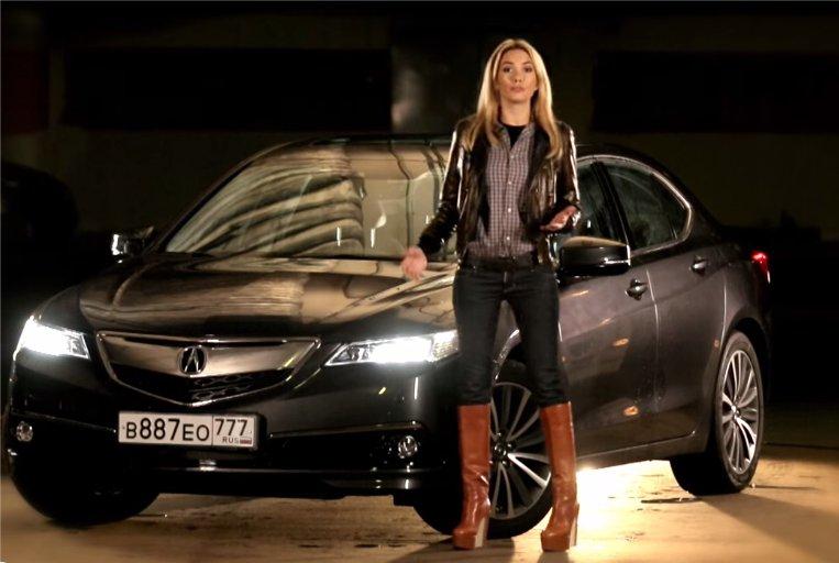2014 Acura TLX 2.4i //Москва рулит