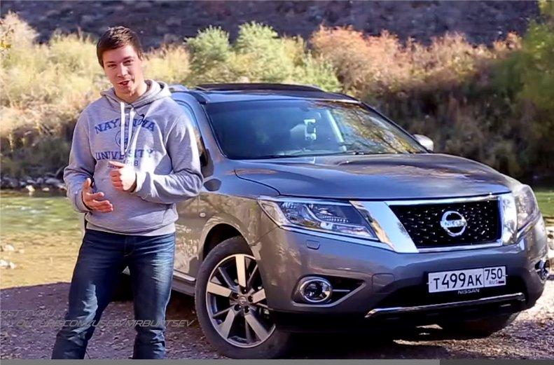 2014 Nissan Pathfinder 3,5i 4WD //Антон Кошелев feat. Игорь Бурцев