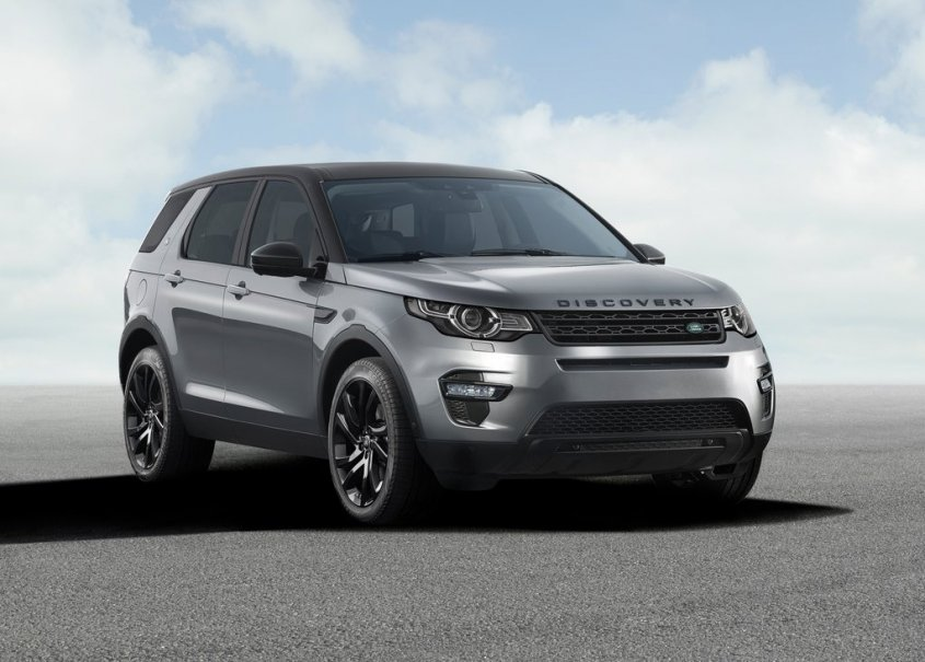 Land Rover Discovery Sport перед