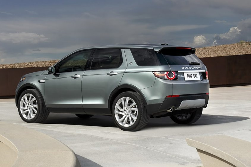 Land Rover Discovery Sport сбоку