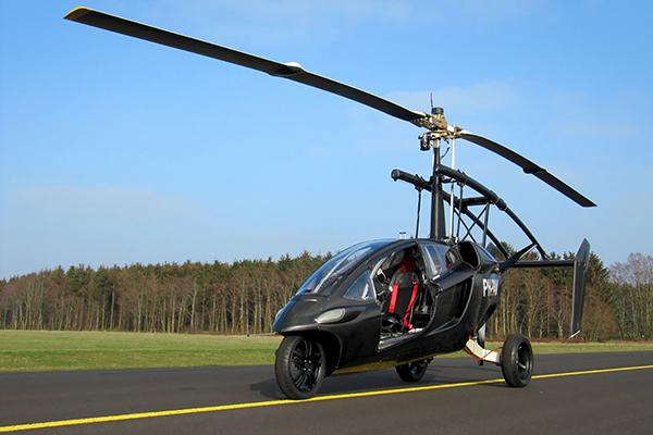 Pal-V One — автомобиль-гироплан