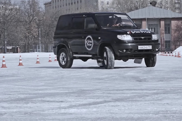 Дрифт на льду — Лунин Андрей