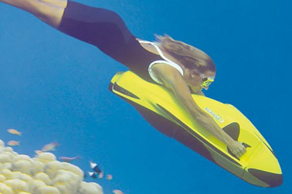 Seabob под водой
