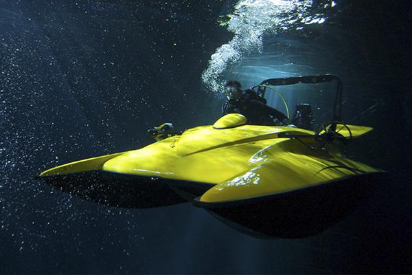 Scubacraft — и лодка, и субмарина