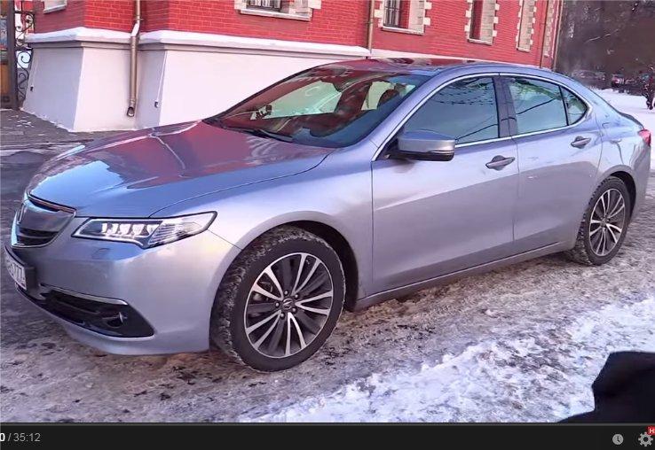 2014 Acura TLX 3.5i //Большой тест-драйв