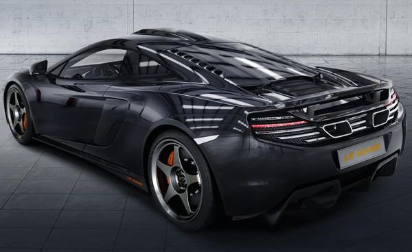 McLaren 650S Coupe Le Mans_rear