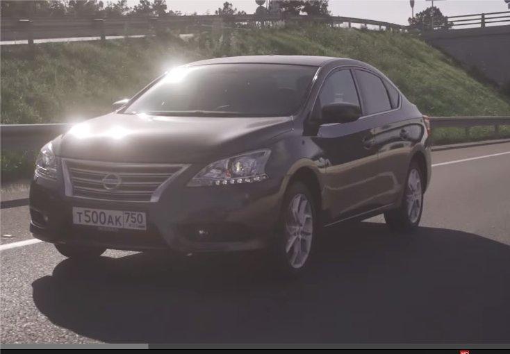 2014 Nissan Sentra 1.6i //Пётр Баканов