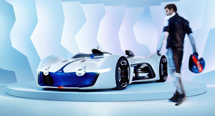 Виртуальный Alpine Vision Gran Turismo официально представлен