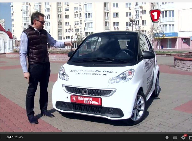 2012 Smart Fortwo Coupe //Первый тест