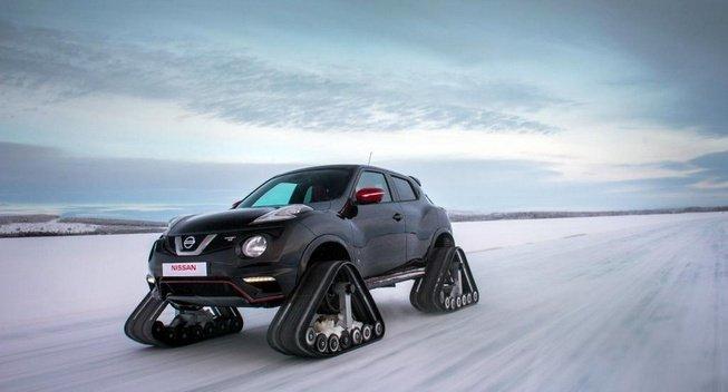 Nissan создаёт Juke Nismo RSnow с гусеничным ходом