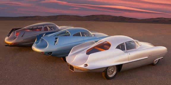 Bertone Alfa Romeo BAT 5, 7, 9 и 11 — концепт-кары с потрясающей аэродинамикой