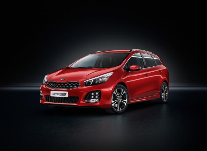 Kia запускает линейку cee'd GT для европейского рынка