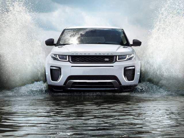 Range Rover Evoque 2016 года доведён до ума