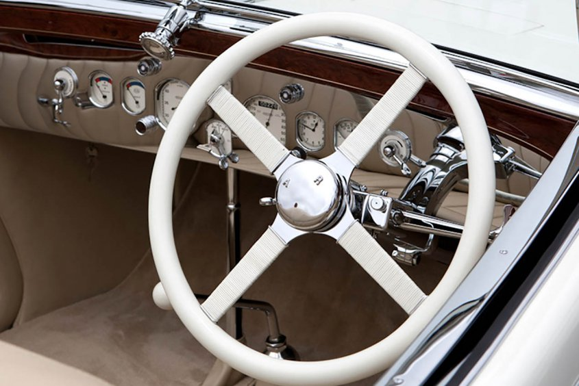 Delage D8S Roadster by Villars 1933 детали