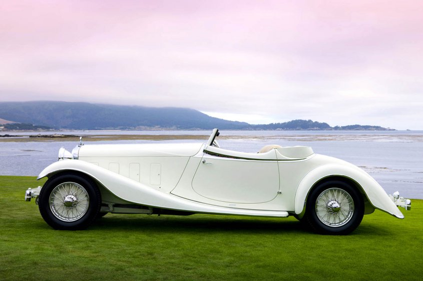 Delage D8S Roadster by Villars 1933 сбоку
